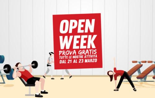 Open Week Revolution (dal 21 al 23 marzo)