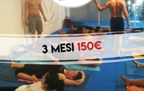 3 mesi di Hot Yoga Therapy a 150€